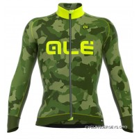 ALE Camo Yellow Long Sleeve Jersey Online